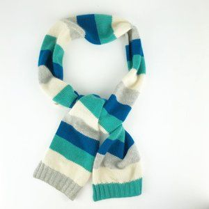 Charter Club 2 Ply Cashmere Oblong Striped Scarf